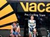 Vacansoleil-renners aan het inrijden